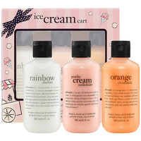 Sephora: Philosophy : Ice Cream Cart Set : gift-value-sets-bath-body