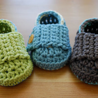 Baby Boy Booties Loafer Style, You Choose Colors, Baby Boy Clothes, Baby Boy Photo Props