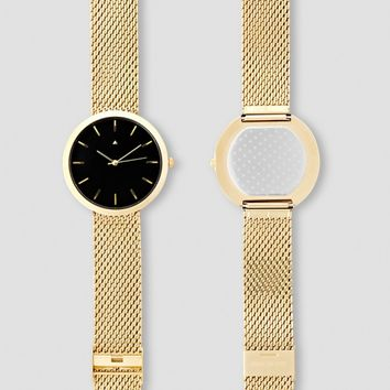 I Love Ugly - Archibald Gold Watch