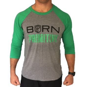 Born Primitive Basebell Style Men's Shirt