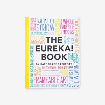The Eureka Book! By Kate Spade Saturday