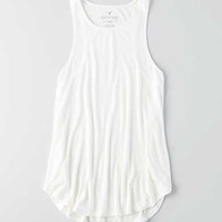AEO Soft & Sexy Hi-Neck Tank, Natural White