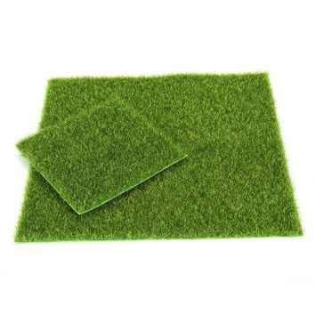 DCCKFS2 2017 Hot Selling 1pc 15cm 49cm Artificial Lawn Grass Garden Ornament DIY Wedding Party Decoration Garden Supplies