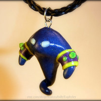 World of Warcraft Inspired Voidwalker Minion Necklace