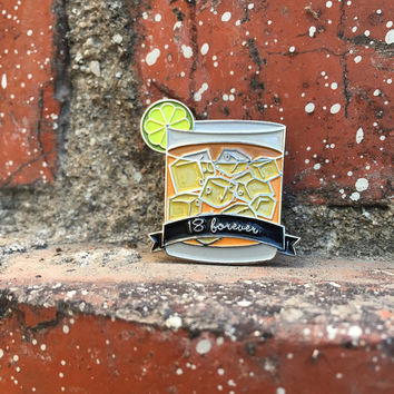 18 Forever - Brand New Soft Enamel Pin