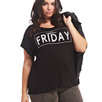 Hello Friday Tee | Wet Seal+