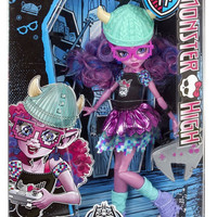 Monster High Brand-Boo Students - Kjersti Trollson Troll Gamer Fashion Doll