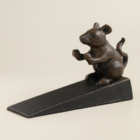 Mouse Doorstop - World Market