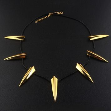 Fashion African national wakanda Black Panther Avengers Necklace Pendant high quality Men Jewelry