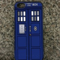 iPhone 5 Tardis Callbox Hard iPhone 5 Case
