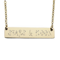 Your Name Written In The Stars Necklace