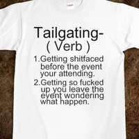 Tailgating Definition  - Corkys