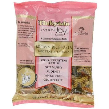 Tinkyada Spiral vegetable Brown Rice Pasta (12x12 Oz)