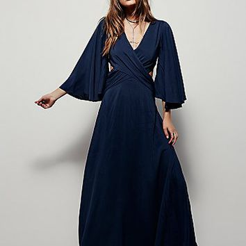 Free People Womens Hester Maxi Dress
