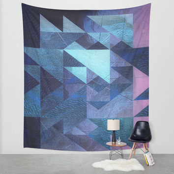 rough tymes Wall Tapestry by DuckyB (Brandi)