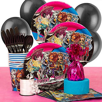 Monster High Party Supplies Kit for 8
