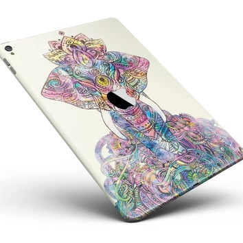 "Zendoodle Sacred Elephant Full Body Skin for the iPad Pro (12.9"" or 9.7"" available)"