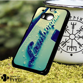 Lamborghini Logo with Water HTC One M7, One M8, One M9, One M9 Plus, One M10 Case