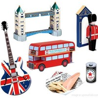 make city - london (set of 5 postcards) - shop - upon a fold