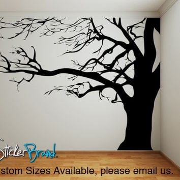 Vinyl Wall Decal Sticker Large Spooky Tree #AC122