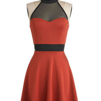 The Minneapolis Soundtrack Dress in Tangerine | Mod Retro Vintage Dresses | ModCloth.com