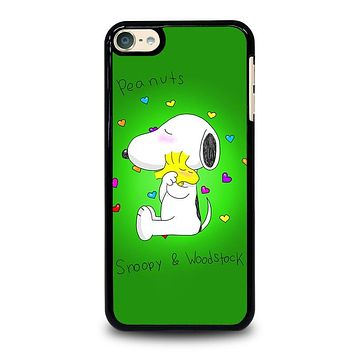 PEANUTS SNOOPY AND WOODSTOCK iPod 4 5 6 Case