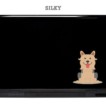 Bull Arab Silky Terrier Kelpie Australian Your Choice Dog Stickers Laptop Art dog decal cell phone outback rear window sticker Australia