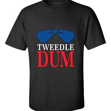 Tweedle Dum RED Funny Couples Valentine's Day Gift T-Shirt
