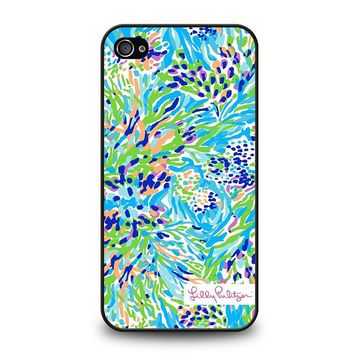 LILLY PULITZER SEA SOIREE iPhone 4 / 4S Case Cover
