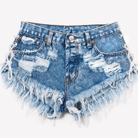 Cowgirl Acid Babe Cut Off Shorts - Limited