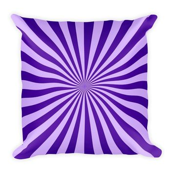 Cool Purple Decorative Throw Pillow For Couch Chair Bed, Cushion Accent