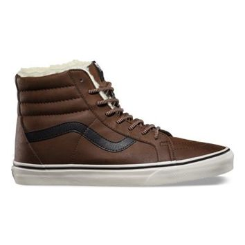 Vans Leather Fleece SK8-Hi Reissue (brown/marshmallow)