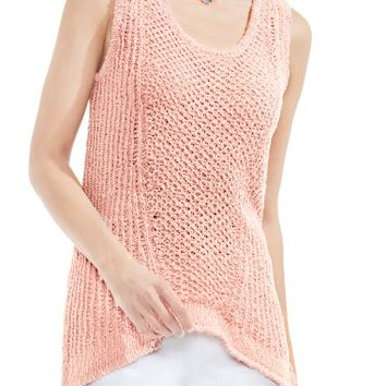 Two by Vince Camuto Textured Tank Sweater | Nordstrom