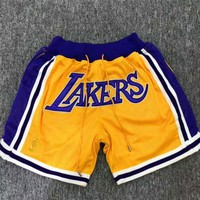 Just Don Jerry Fog Lebron Lakers Short | Best Deal Online