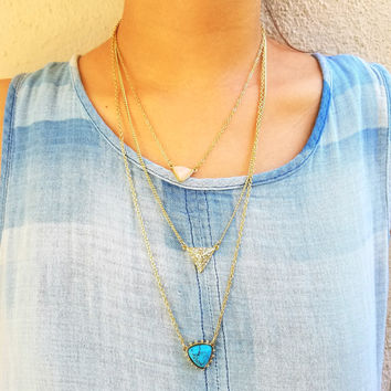 Chasity Layered Necklace