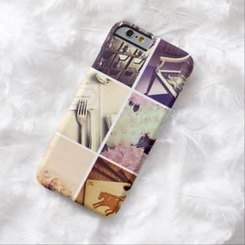 Custom Instagram Photo Collage Barely There iPhone 6 Case