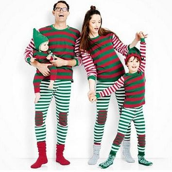 Family Christmas Pajamas Family Matching Clothes New Year Family Look Matching Mother Daughter clothes cotton Father Son outfits
