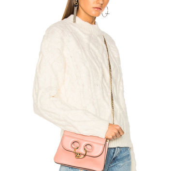 Acne Studios Edyta Cable Sweater in Ivory White | FWRD
