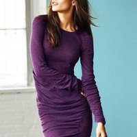 Victoria's Secret - NEW! Ruched Crewneck Sweaterdress