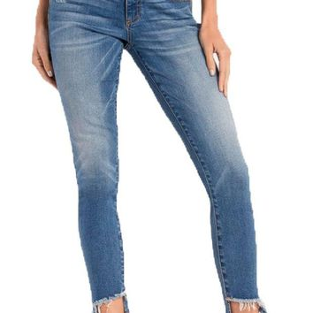DCCKAB3 Miss Me Anything But Average Mid-Rise Ankle Skinny Jeans