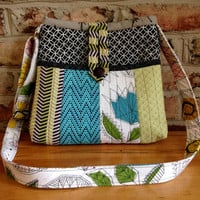 Quilted Bright & Modern Crossbody Bag