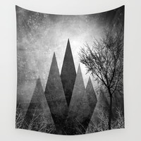 TREES VIII Wall Tapestry by Pia Schneider [atelier COLOUR-VISION]