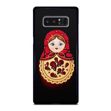 MATRYOSHKA RUSSIAN NESTING DOLLS Samsung Galaxy Note 8 Case Cover