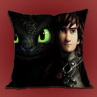 How To Train Your Dragon Toothless on Decorative Pillow cover by ShimbonPillow