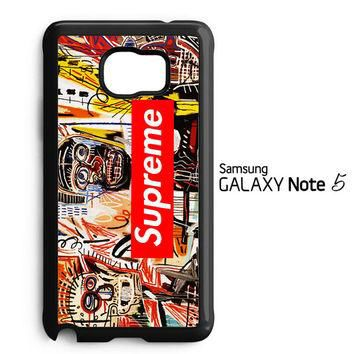 supreme to release collection featuring basquiats V1635 Samsung Galaxy Note 5 Case