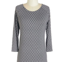 ModCloth Mid-length 3 Make an Exceptional Top in Geometric