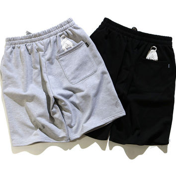 Couple Beach Pants Cotton Casual Shorts [10215218183]