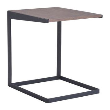 Sister End Table MDF, Metal