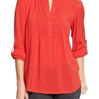 Women's Pintuck Tunics