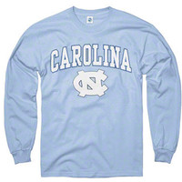 North Carolina Tar Heels Youth Carolina Blue Perennial II Long Sleeve T-Shirt